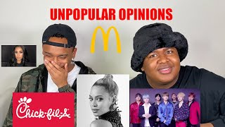 UNPOPULAR OPINIONS ABOUT YOUR FAVES W/ @TROYCETV