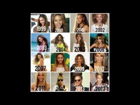 Evolution of Beyoncé(Beyonce Singing)