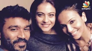 Kajol begins shooting for her Tamil Movie VIP 2 with Dhh and Soundarya Rajinikanth