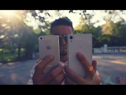 iPhone 5S VS Sony Xperia Z2 Camera Test