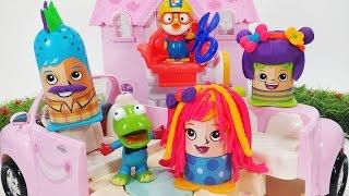 뽀로로 미용사 플레이도우 헤어세트 장난감 점토놀이 Play-Doh Crazy Cuts Hair Designer Colorful PlayDoh pororo Style Hair Toy