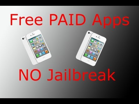 How to get PAID APPS for FREE! NO JAILBREAK! LEGAL! Music Videos