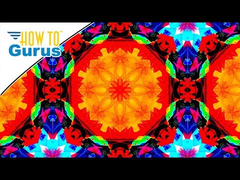 Photoshop Kaleidoscope Tutorial: How to Make a Kaleidoscope Effect in CC 2017 CS6 CS5