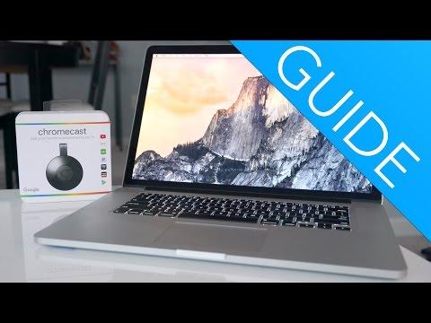 Chromecast Setup and Macbook!!