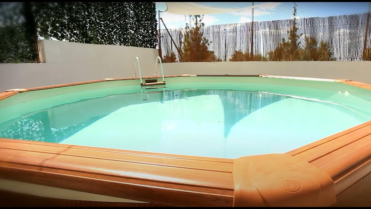 C mo montar una piscina de superficie leroy merlin youtube - Leroy merlin douchette ...