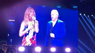Download Lagu Celine Dion- Duet with John Farnham- You're The Voice- Melbourne Rod Laver Arena- 8.8.18- Live Gratis STAFABAND