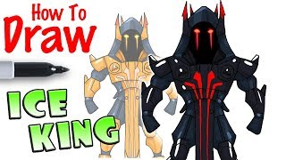 How to Draw the Ice King | Fortnite