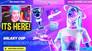 STREAMERS REACT TO *NEW* GALAXY CUP & FEMALE GALAXY PRIZE! (CRAZY UPDATE!)