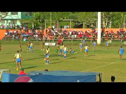 International Rugby League 2013: Niue vs Vanuatu (1st Half- Part 2)