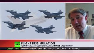 Russian games developer may face 10yrs for smuggling arms docs as he bought F-16 manuals on eBay