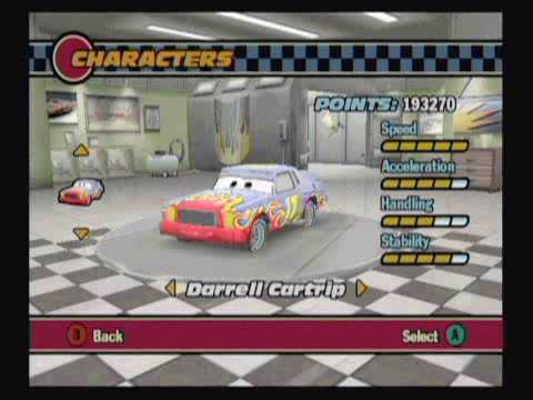 Cars Race O Rama Xbox  Walkthrough Part