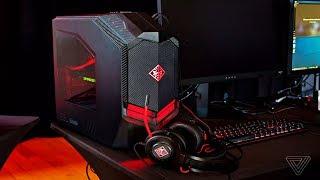 Hp OMEN Gaming Desktop Computer, AMD Ryzen 5 1400 Processor, NVIDIA GeForce GTX 1060 3 GB 8 GB RAM