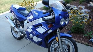 Yamaha FZR 600 exhaust sound compilation