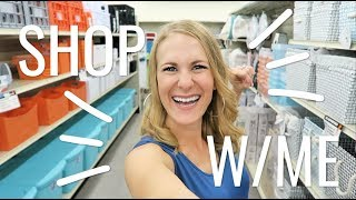 BUDGET SHOP & DECORATE WITH ME! 🧡 Organization & decor *SCORES* from Big Lots!