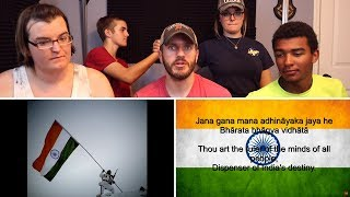 India's National Anthem REACTION! | Happy Independence Day!
