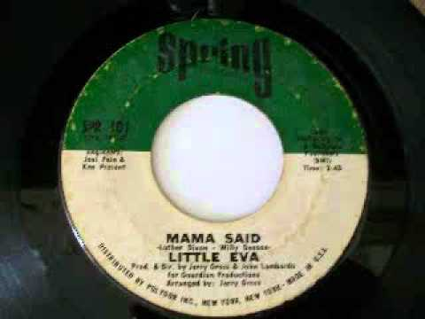 Little Eva - Mama Said