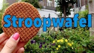 Stroopwafel Taste Test Challenge: Delicious Dutch syrup waffle in Amsterdam
