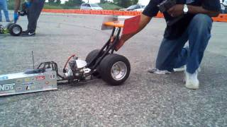 1/4 scale dragster race www.Nitrostreets.com