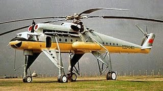 "The Largest Soviet Flying Crane Helicopter - Mil Mi-10 ""Harke"""