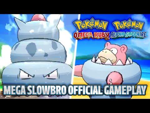 MEGA SLOWBRO OFFICIAL GAMEPLAY! - Pokémon Omega Ruby and Pokémon Alpha Sapphire News!