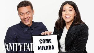 Gina Rodriguez and Ismael Cruz Córdova Teach You Puerto Rican Slang | Vanity Fair