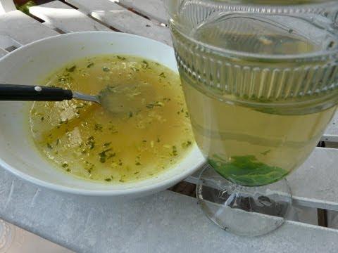 Natural Medicine - Poor Man's Health Care, Garlic Soup and Mint Honey Tea
