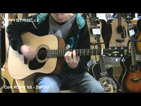 Akustické Kytary Z Kategorie Nejlevnějších. FENDER Fender CD-60 / CORT AD810 NS / TENSON D1 .