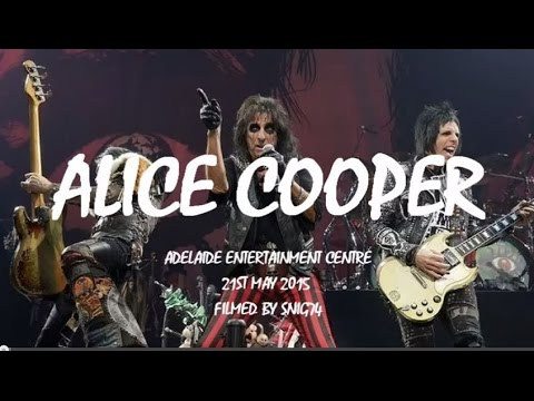 Alice Cooper - Full Concert, Adelaide May 21 2015 supporting Motley Crue