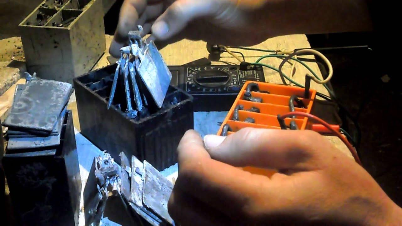 Аккумулятор свинцовый своими руками 23