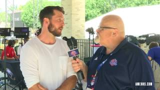 2017 Amerks Day at Training Camp | Nathan Paetsch Interview