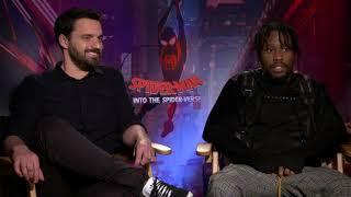 Shameik Moore & Jake Johnson Interview: Spider-Man: Into the Spider-Verse