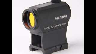 Holosun HS503C And Infiniti HS402C Red Dot Optic Review