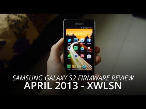 Samsung Galaxy S2 Jelly Bean 4.1.2 XWLSN Firmware Review - April 2013