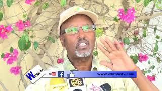 Aadan Dhoolayare oo Eedeeyey Wasiirada Khaarajiga iyo ka Biyaha