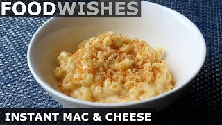 """Instant"" Mac & Cheese - One-Pan, No-Bake Mac & Cheese - Food Wishes"