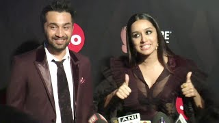 CUTE Shraddha Kapoor With Brother Siddhanth At GQ Awards 2017 Best Dressed Awards