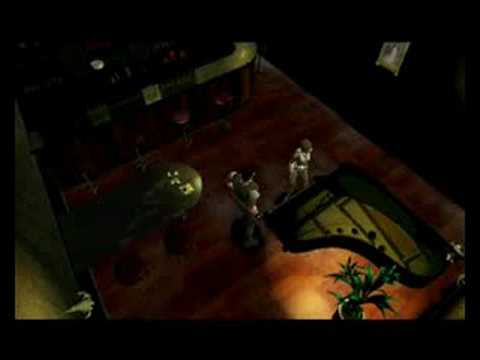 Resident Evil 1 Chris Redfield Cutscenes: Part One