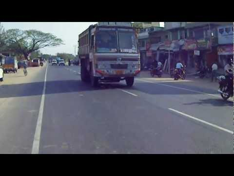 Crazy Indian road traffic live