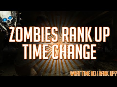 Black Ops 2 Zombies l Ranking System - Rank Up Time Changed. What Time Do I Rank UP?