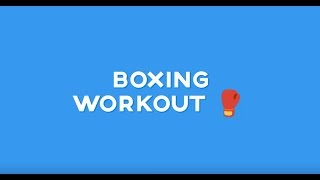 BOXING WORKOUT 🥊: DAY 7