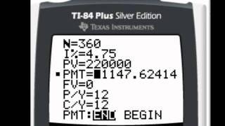 TI 84 Financial Apps Demo
