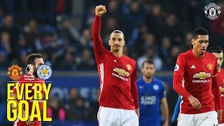 Every Premier League Goal | Manchester United v Leicester City | Solskjaer, Van Persie More!