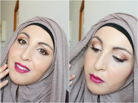 Fall Glam Make up and Hijab / Maquillage et hijab d'automne