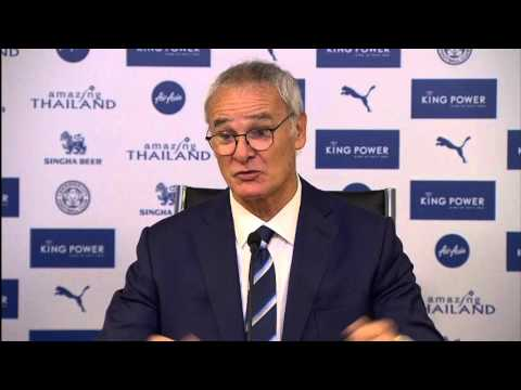 Claudio Ranieri on ordering the pizzas, Jamie Vardy & not shaking hands with Pardew