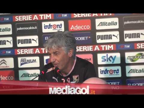 (2/2)Gian Piero Gasperini in conferenza stampa alla vigilia di Chievo-Palermo - Mediagol.it