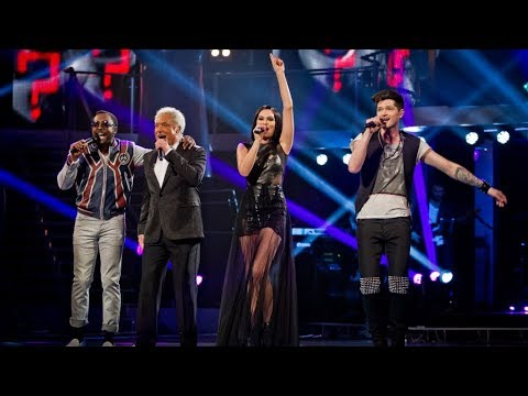 The Voice Uk Coaches Take On Each Other's Hits - The Voice Uk - Live Final - Bbc One video