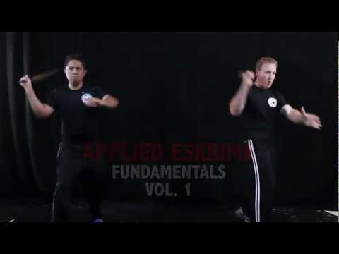 Applied Eskrima Training DVD Volume 1 Image 1