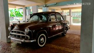 Starting my 1962 Hindustan Ambassador mk1 after 3 months