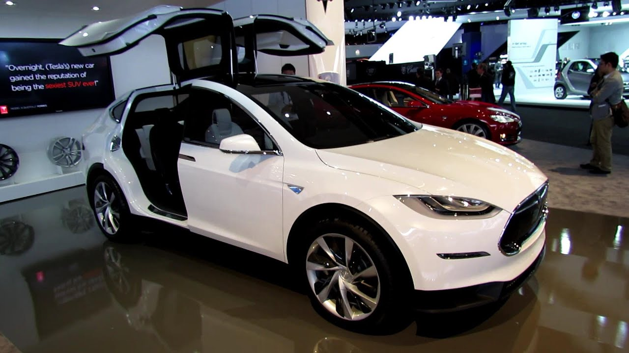 2014 tesla model x exterior and interior walkaround for Tesla model x interieur