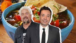 Jimmy Fallon Vs. Guy Fieri: Whose Chili Is Better?